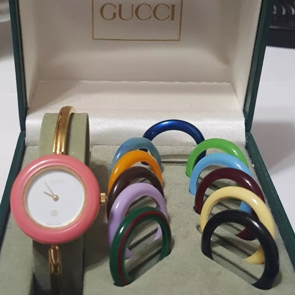 bdb19ee3066 Gucci Accessories - Authentic Gucci 1100 – L Bezels Women s watch
